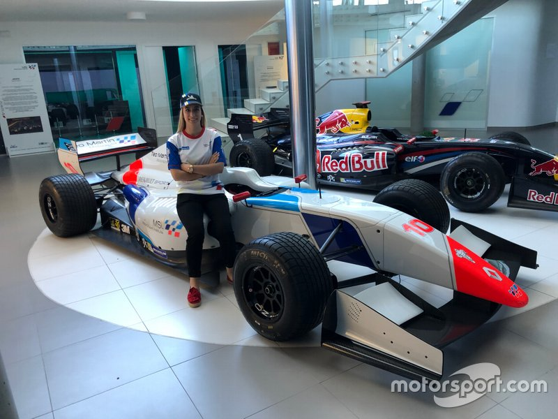 Sandra Gómez, ganadora de la Búsqueda de Piloto Michelin 2019