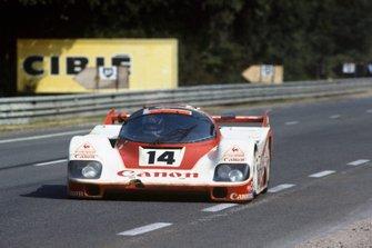 Jonathan Palmer, Jan Lammers, Richard Lloyd, Porsche 956
