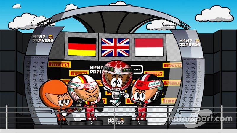 El GP de Canadá 2019, según MiniDrivers