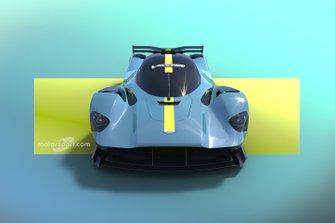 Motorsport Network Aston Martin Valyrie hypercar render