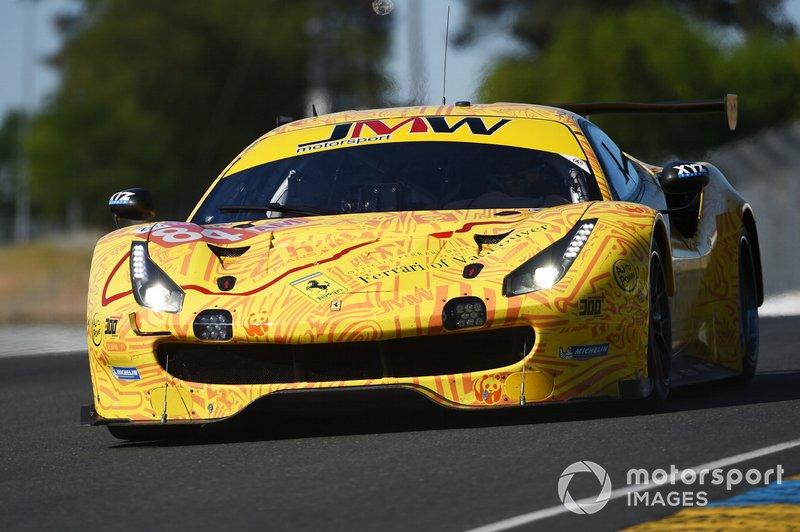 GTE-Am: #84 JMW Motorsport, Ferrari 488 GTE