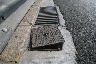 Manhole cover in Monte Carlo