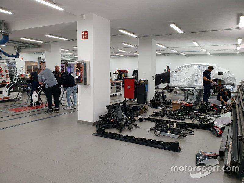 Detalle de las instalaciones y programas de Motor&Sport Institute