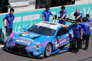 #6 Lexus Team LeMans Lexus LC500: Kazuya Oshima, Kenta Yamashita