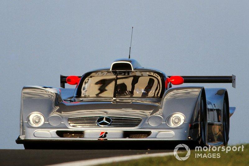 #4 Mercedes CLR: Mark Webber, Jean-Marc Gounon, Marcel Tiemann