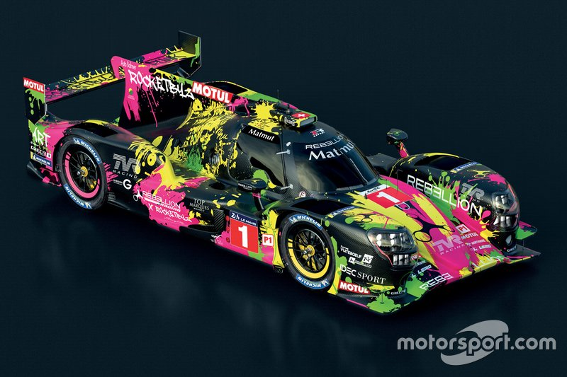 LMP1: #1 Rebellion Racing, Rebellion-Gibson R13