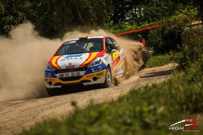 Efren Llarena, Sara Fernandez, Rally Team Spain, Peugeot 208 R2