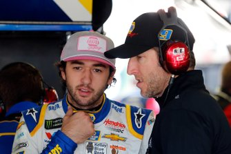 Chase Elliott, Hendrick Motorsports, Chevrolet Camaro NAPA AUTO PARTS and crew chief Alan Gustafson