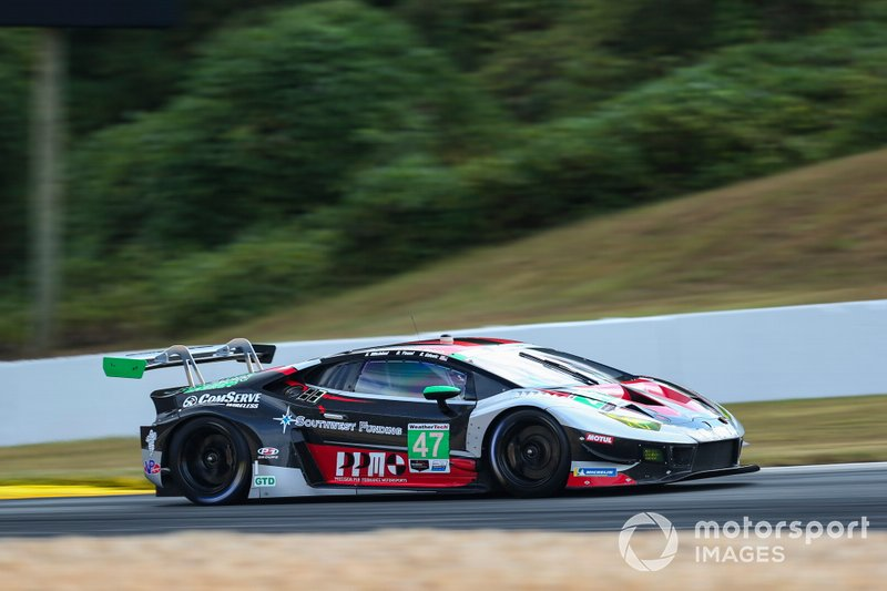 #47 Precision Performance Motorsports Lamborghini Huracan GT3, GTD: Brandon Gdovic, Don Yount, Shinya Michimi