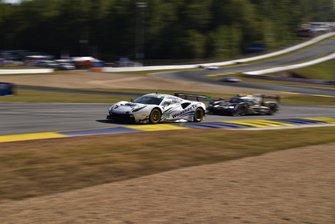#63 Scuderia Corsa Ferrari 488 GT3, GTD: Cooper MacNeil, Toni Vilander, Jeff Westphal,#5 Mustang Sampling Racing Cadillac DPi, DPi: Joao Barbosa, Filipe Albuquerque, Mike Conway