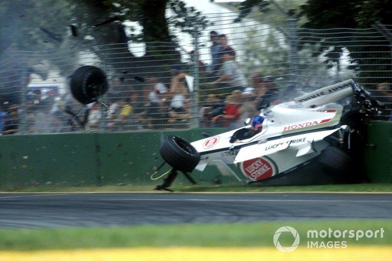 Tödlicher Unfall in Monza (2000)