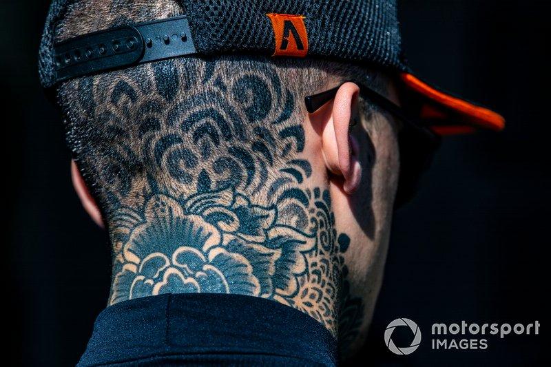 Aron Canet, Aspar Team Team tattoo