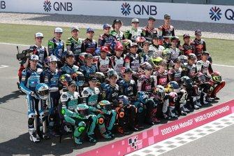 Moto3 line-up