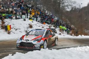 Элфин Эванс и Скотт Мартин, Toyota Gazoo Racing WRT, Toyota Yaris WRC