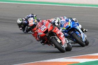 Andrea Dovizioso, Ducati Team, Alex Rins, Team Suzuki MotoGP, Maverick Vinales, Yamaha Factory Racing