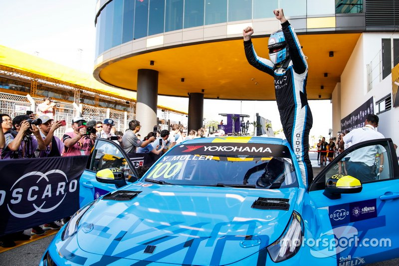 Ganador Yvan Muller, Cyan Racing Lynk & Co 03 TCR
