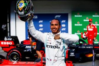 Обладатель третьего места в квалификации Льюис Хэмилтон, Mercedes AMG F1