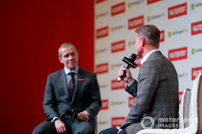 Stuart Codling talks to David Coulthard on the Autosport Stage