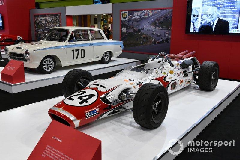 Lola T92 Indycar allo stand di Autosport