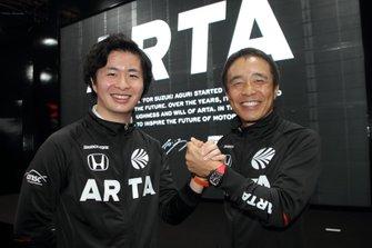 大湯都史樹、高木真一(#55 ARTA NSX GT3)
