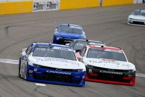 Alex Labbe, DGM Racing, Chevrolet Camaro and Myatt Snider, Richard Childress Racing, Chevrolet Camaro TaxSlayer