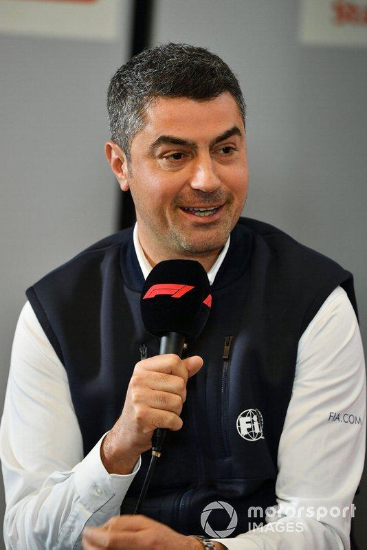 Michael Masi, Director de Carrera en la conferencia de prensa