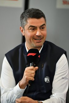 Michael Masi, Race Director in the press conference