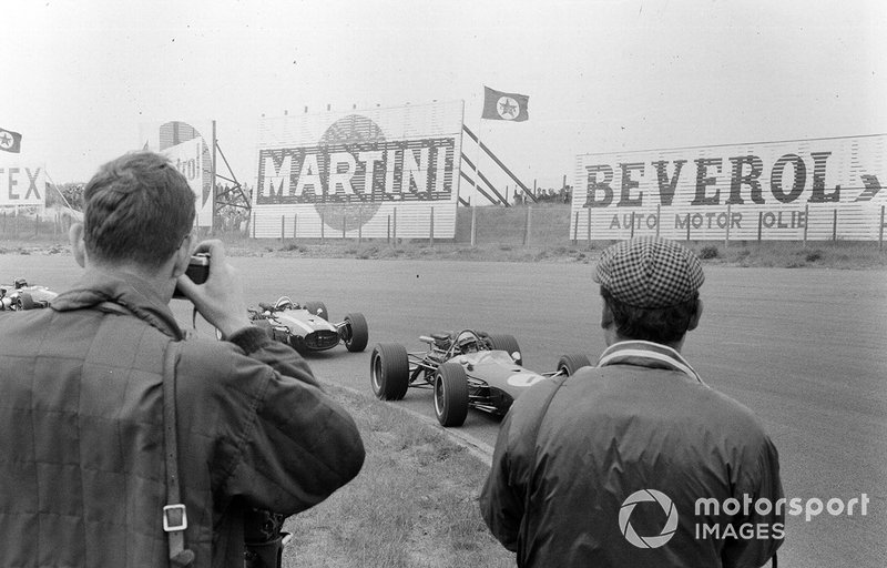 Zandvoort 1967: Jack Brabham en Jochen Rindt