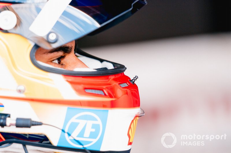 Паскаль Верляйн на этапе Формулы Е в Эр-Рияде