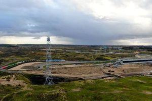 Werkzaamheden aan Circuit Zandvoort ter voorbereiding op de Dutch Grand Prix