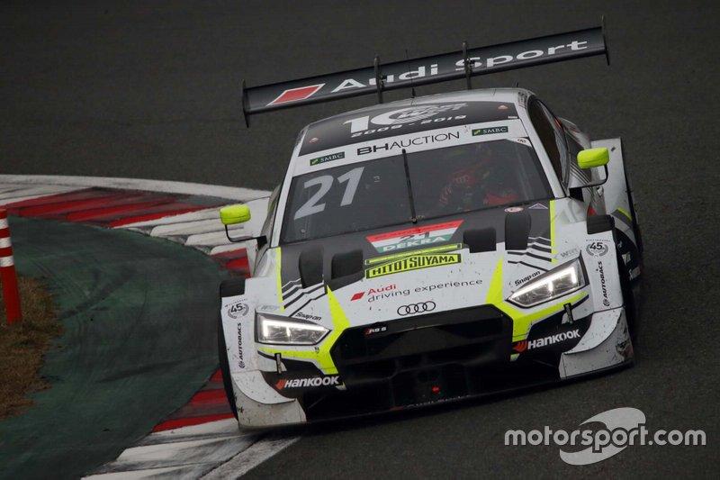 Benoit Treluyer, #21 Audi RS 5 DTM