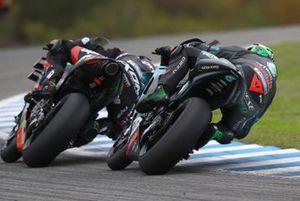 Франко Морбиделли, Petronas Yamaha SRT, и Алекс Маркес, Repsol Honda Team