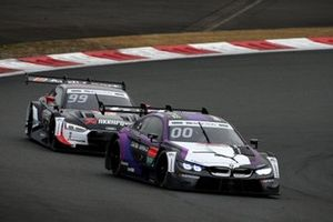 Kamui Kobayashi, BMW Team RBM BMW M4 DTM, Mike Rockenfeller, Audi Sport Abt Sportsline Audi RS5 DTM