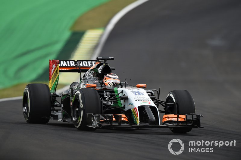 2014: Force-India-Mercedes VJM07