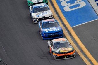 Noah Gragson, JR Motorsports, Chevrolet Camaro and Jeb Burton, JR Motorsports, Chevrolet Camaro LS Tractor