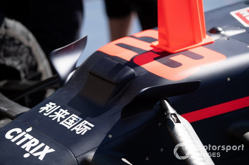 Detalle del Red Bull Racing RB15