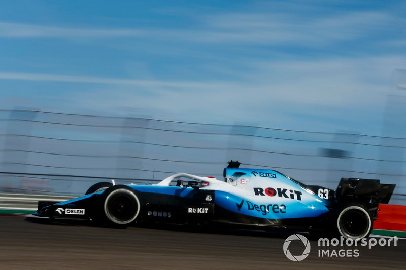 18.-George Russell, Williams Racing FW42, 1m35.372s