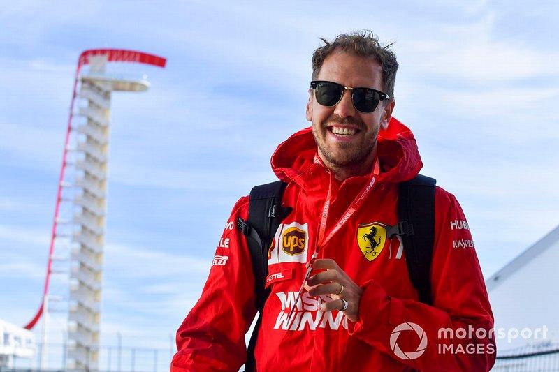A Sebastian Vettel no le preocupa mucho