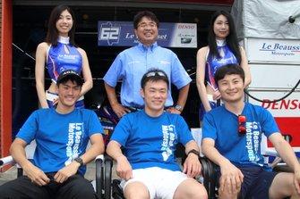 小河諒、嵯峨宏紀、山下健太(LeBeausset Motorsport)