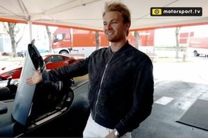 Test di Rosberg sulla Ferrari Monza SP1