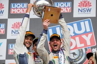 Podium: Winner #7 Bentley Team M-Sport Bentley Continental GT3: Jules Gounon, Maxime Soulet, Jordan Pepper