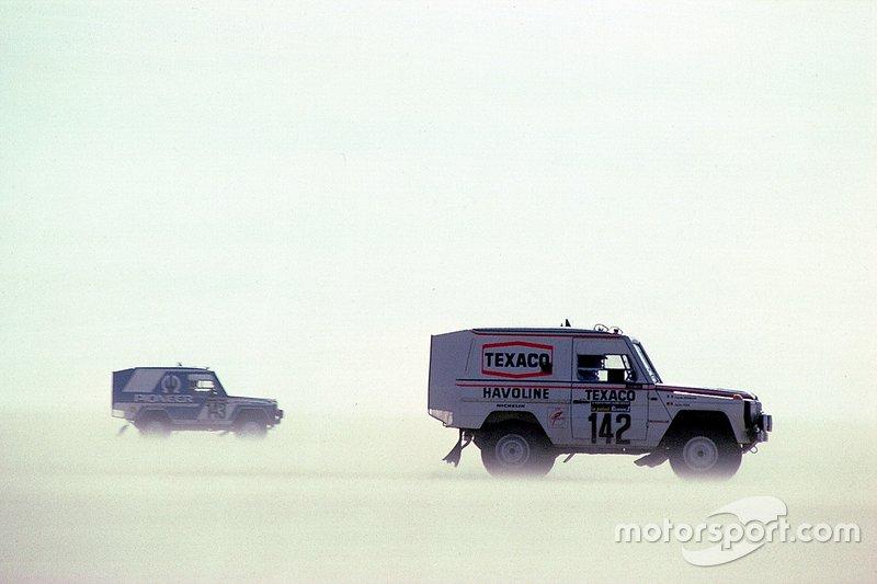 Mercedes-Benz 280 GE : Jacky Ickx, Claude Brasseur (1983)