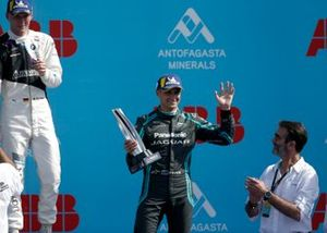 1. Maximilian Günther, BMW I Andretti Motorsports, 3. Mitch Evans, Jaguar Racing