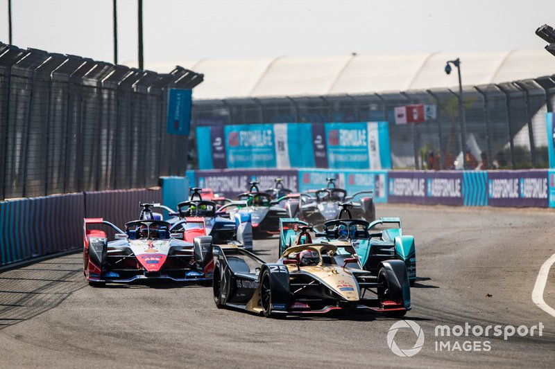 Jean-Eric Vergne, DS Techeetah, DS E-Tense FE20 Jérôme d'Ambrosio, Mahindra Racing, M6Electro, James Calado, Jaguar Racing, Jaguar I-Type 4