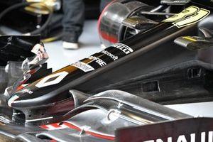Nose and bodywork detail of Esteban Ocon, Renault F1 Team R.S.20