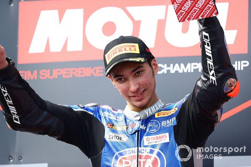 El ganador Toprak Razgatlioglu, Pata Yamaha