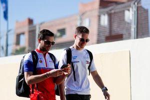 Жером д'Амброзио, Mahindra Racing, и Стоффель Вандорн, Mercedes-Benz EQ Formula E Team