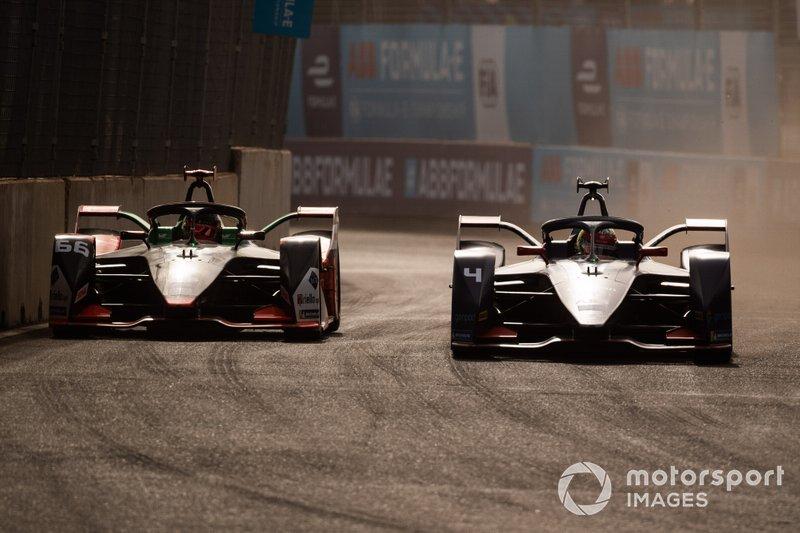 Robin Frijns, Virgin Racing, Audi e-tron FE06 Daniel Abt, Audi Sport ABT Schaeffler, Audi e-tron FE06