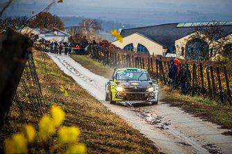 TURAN Frigyes, BAGAMERI Laszlo, Skoda Fabia R5, Rally Hungary, FIA ERC