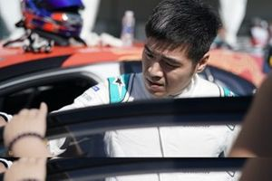 Zhang Yaqi, Jaguar China Racing sulla griglia